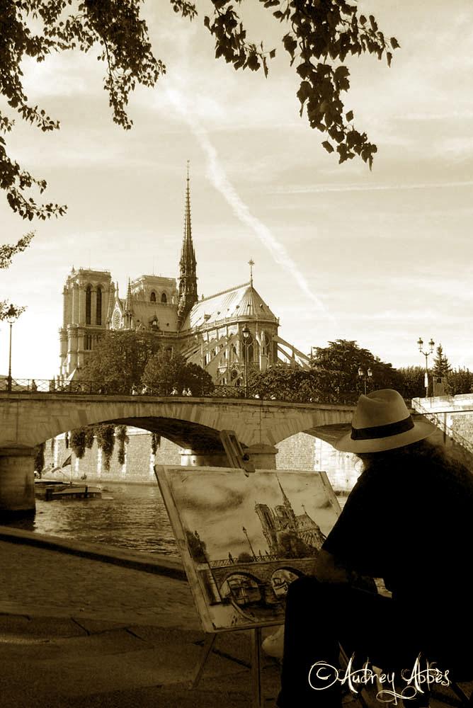 Paris en peinture (Sépia).