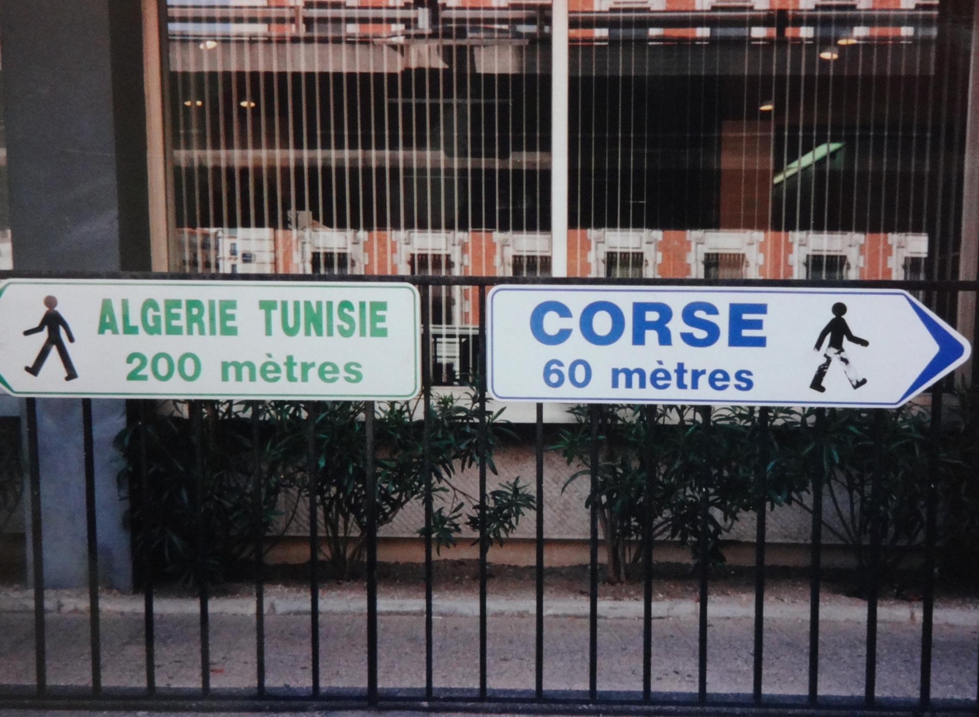 Courtes distances à partitr de Marseille et à pieds !!!