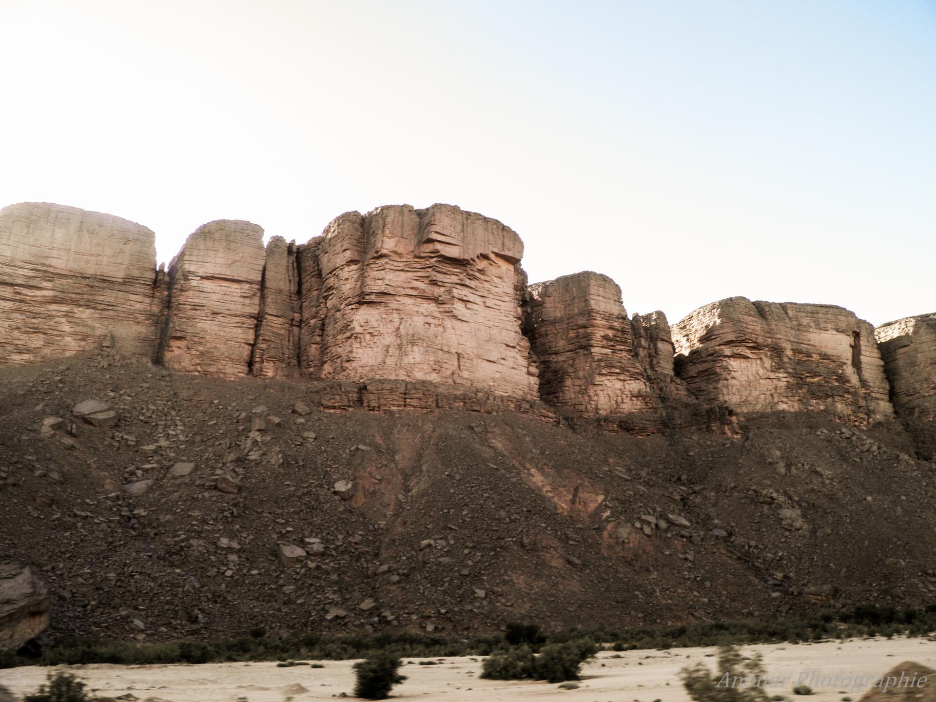 Montagne du sud Algérien