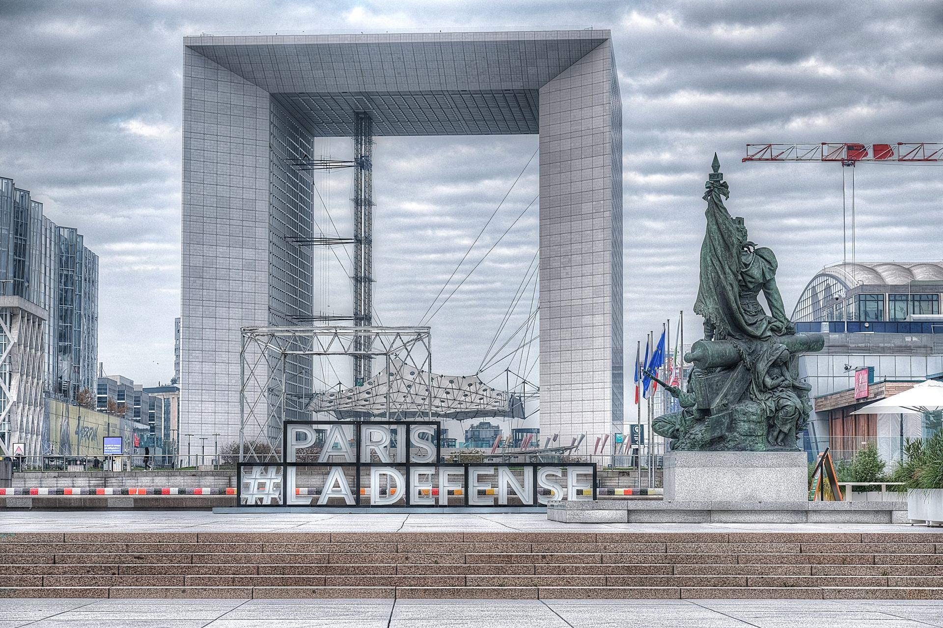 Paris La Défense!