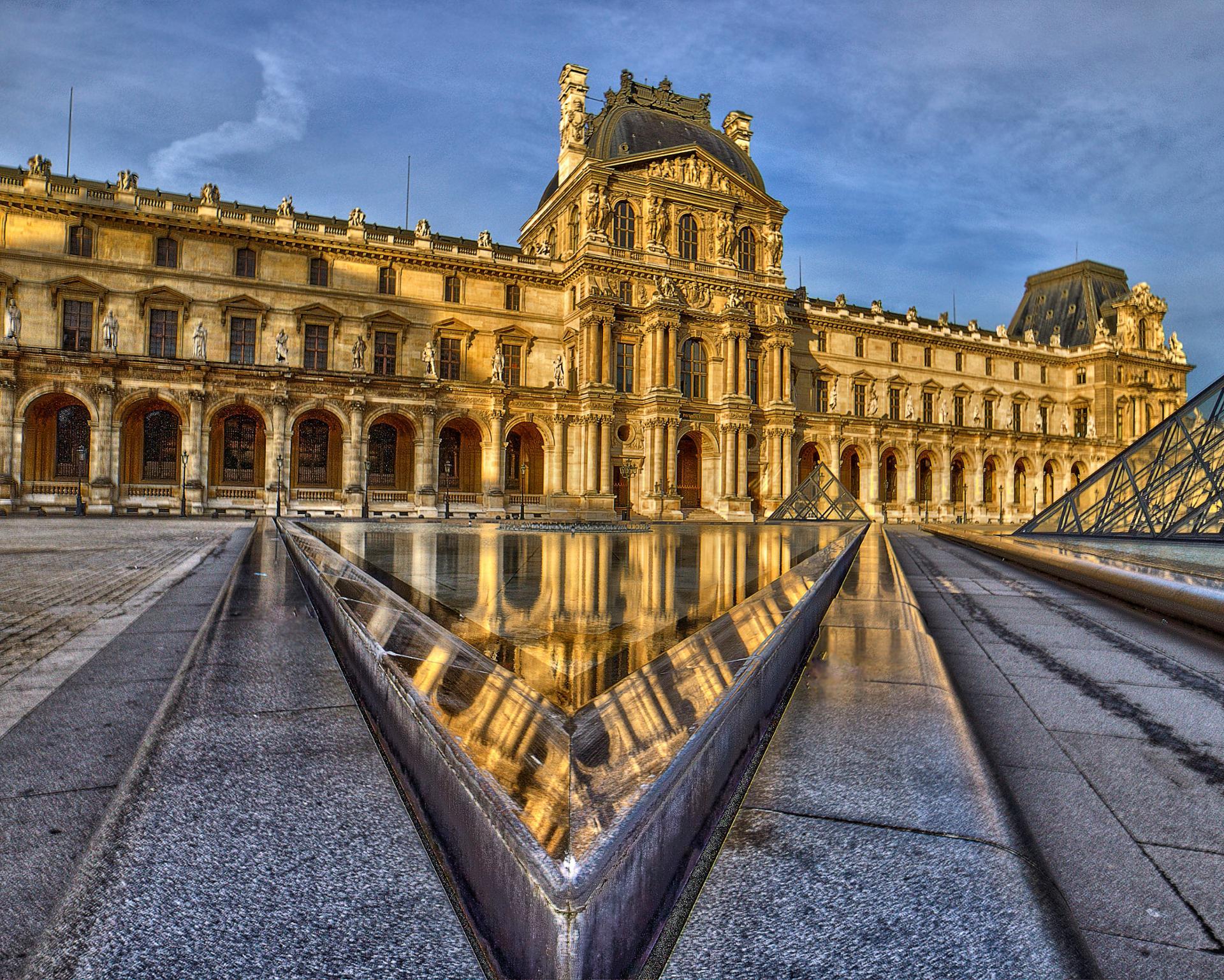 Reflets du Louvre