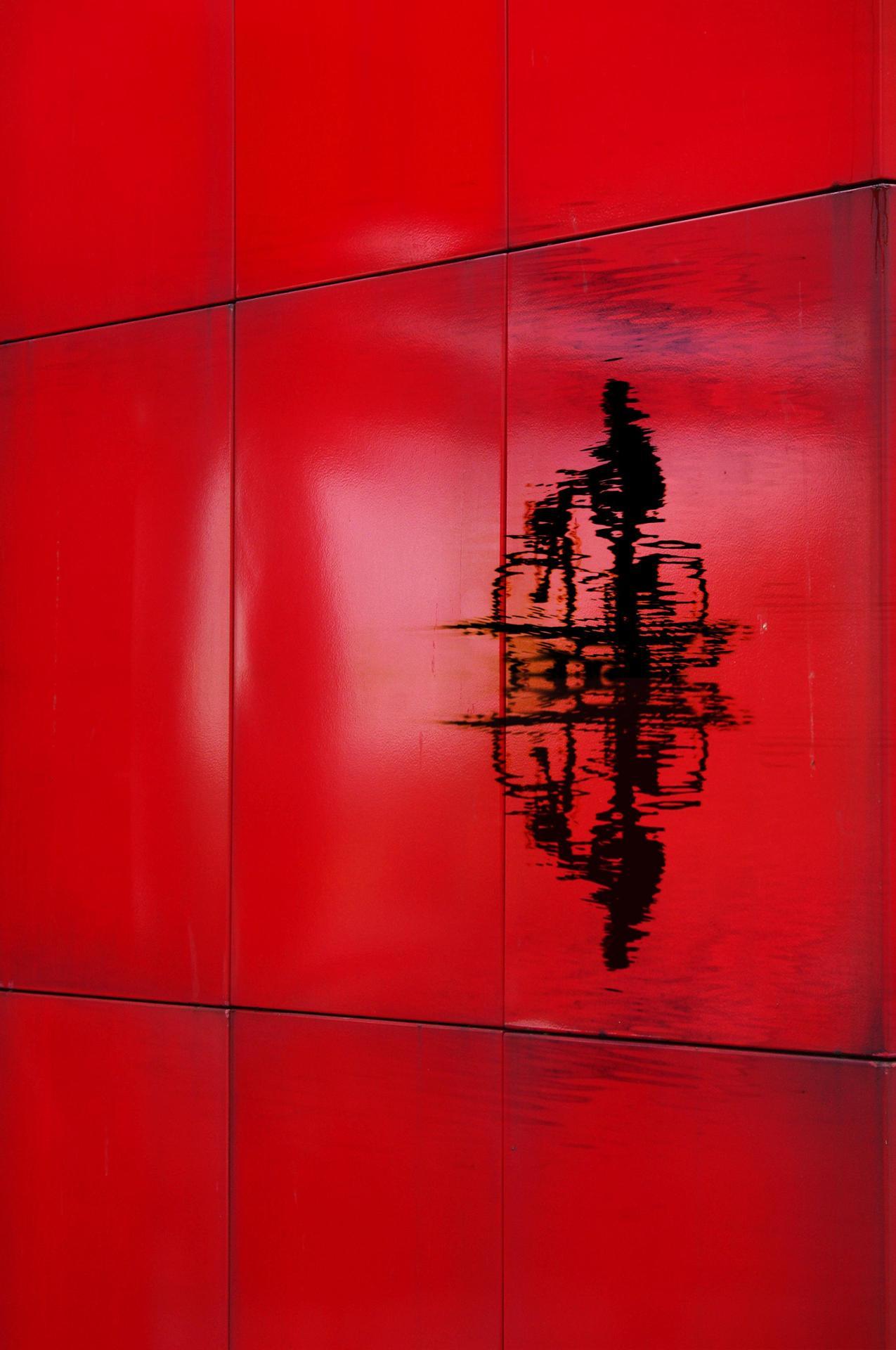 Le mur rouge