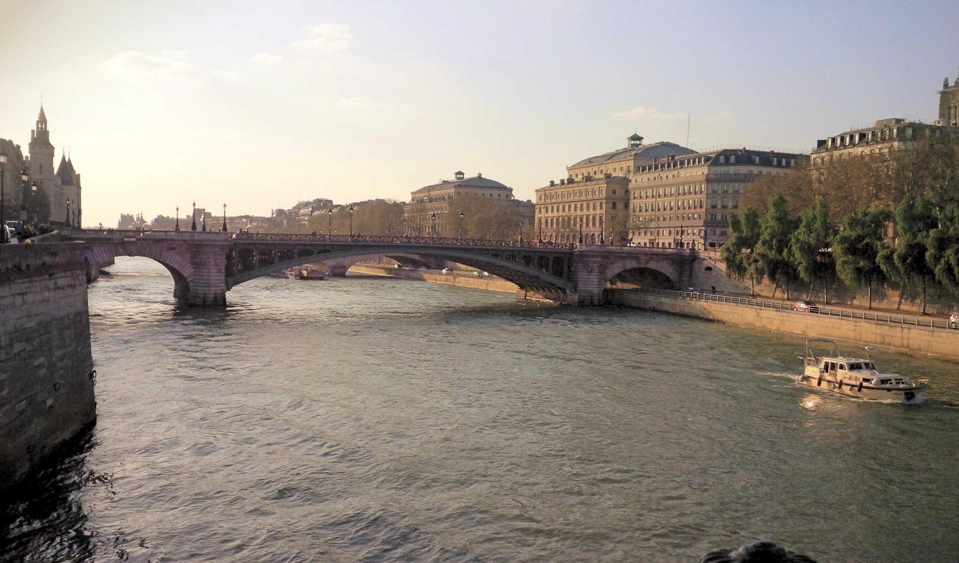 Printemps sur Seine