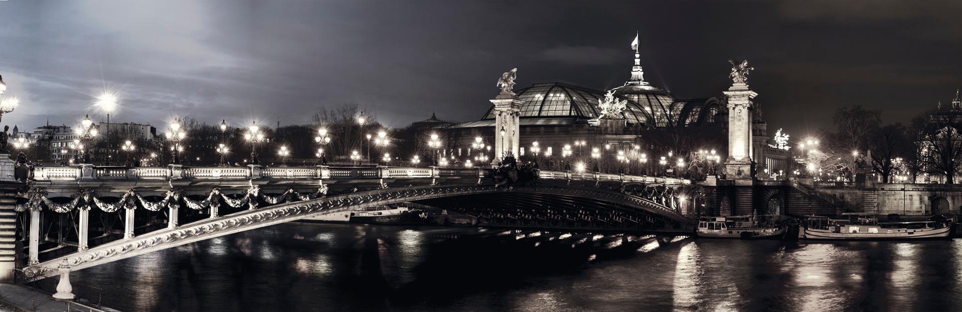 une nuit au Grand Palais