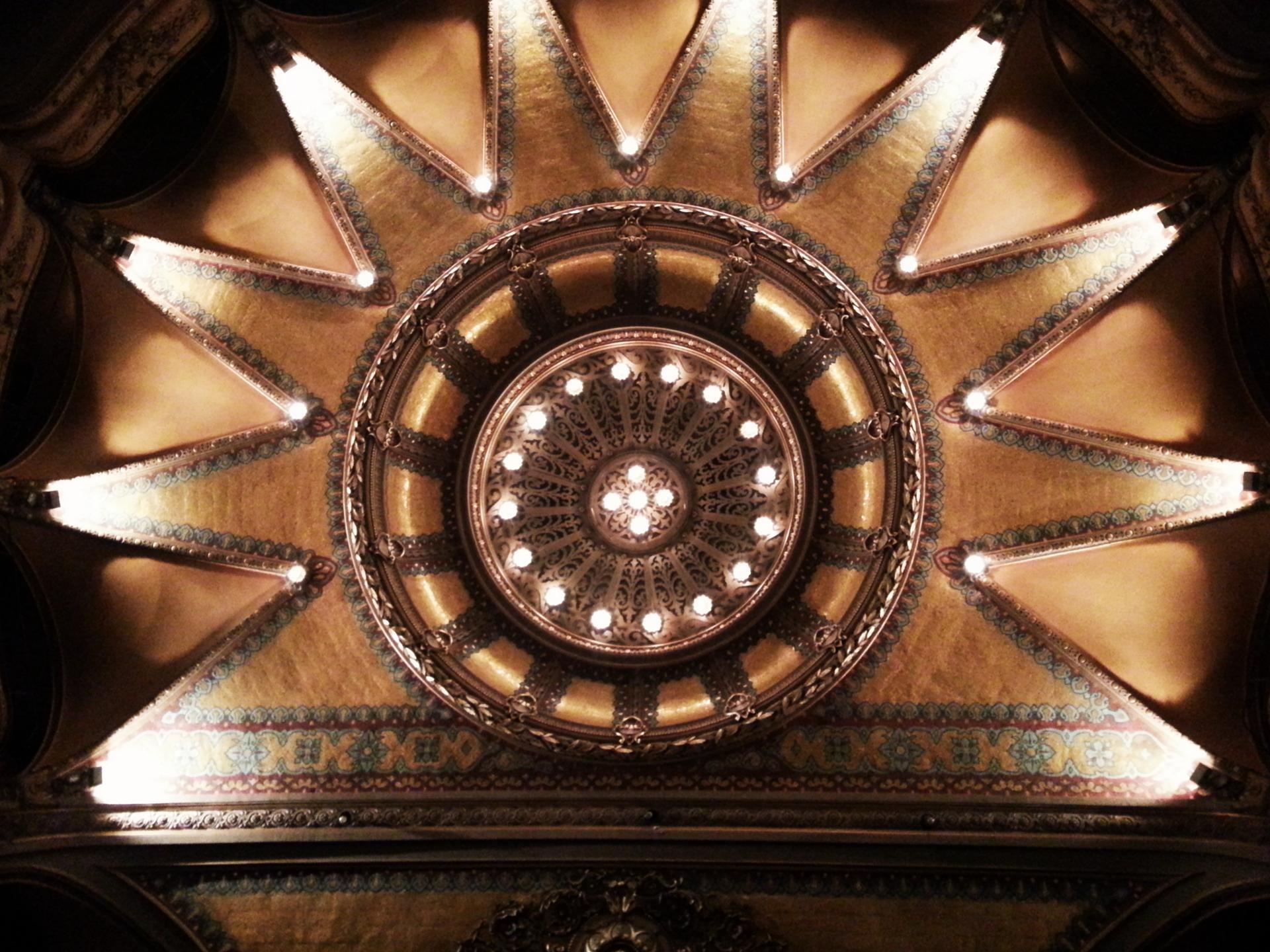 Plafond du théâtre Antoine , paris 10