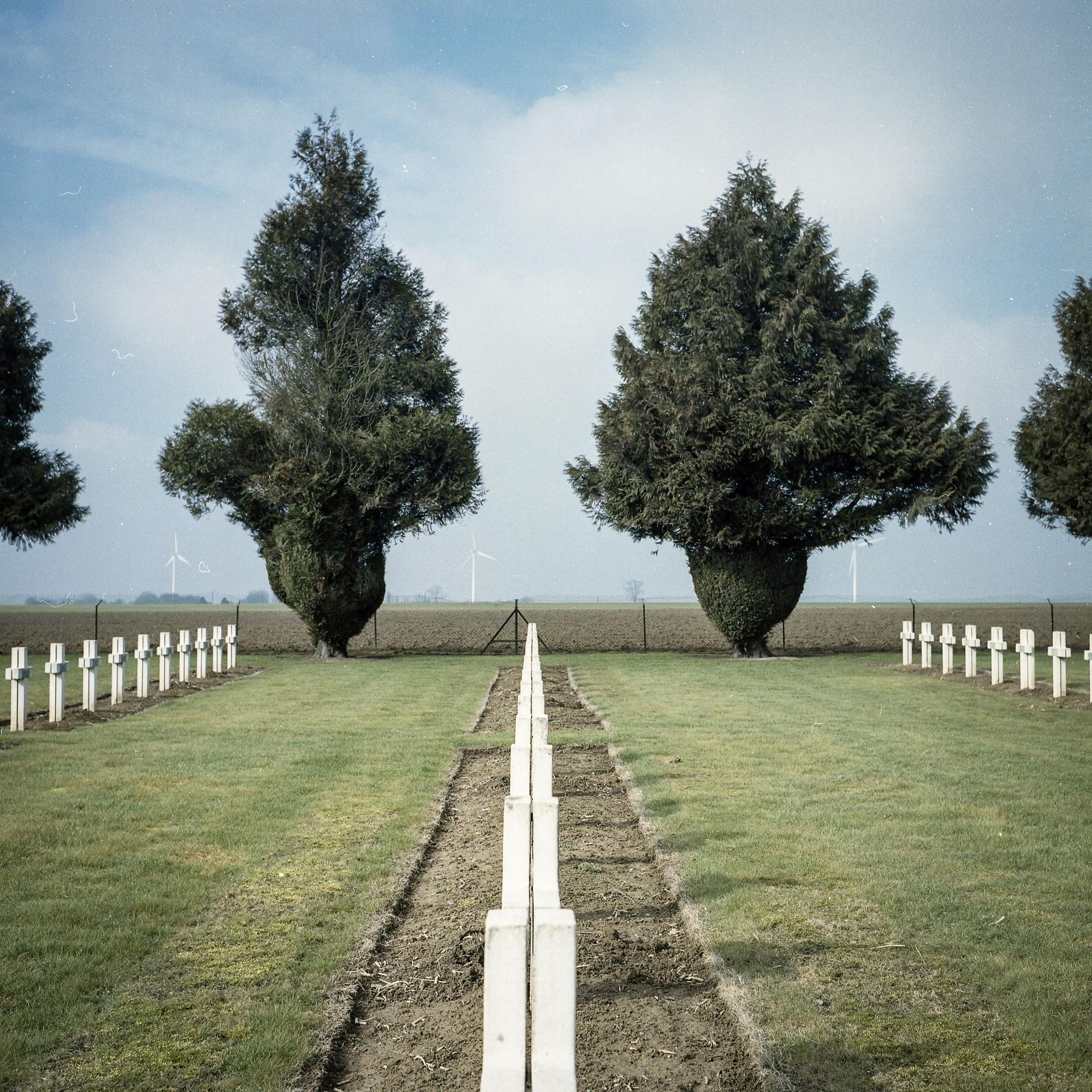 Lihons, Picardie: mémoire de la première guerre mondiale
